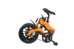 ONEBOT S6 36V Folding Moped Bicycle 3 Modes 50km Mileage Range Electric Bike - EU Plug (Poland Warehouse)