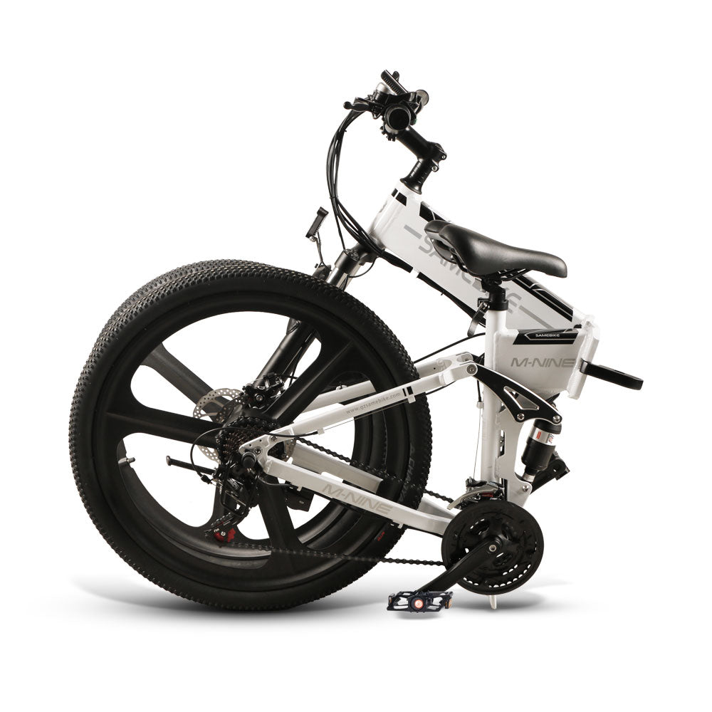 [FREE SHIPPING] Samebike LO26 Moped Electric Bike Smart Folding E-bike 350W 30km/h - EU plug (Poland Warehouse)