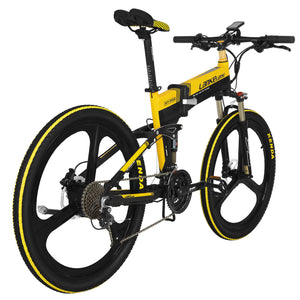 LANKELEISI XT750 Sports Edition Electric Bike Bicycle 48V 10.4AH 400W 26in Wheel - Poland Warehouse