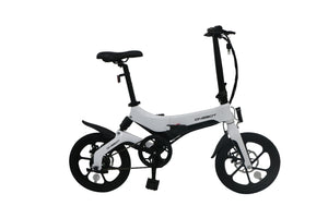 Pre-sale ONEBOT S6 36V Folding Moped Bicycle 3 Modes 50km Mileage Range Electric Bike - EU Plug (Poland Warehouse)
