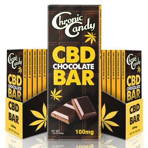 Chronic Candy Chocolate Bars