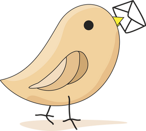Offering Envelopes Bird Logo