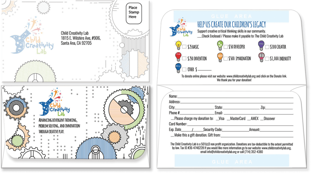 Custom Remittance Envelopes