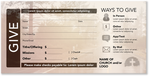 Offering Envelopes Digital Download