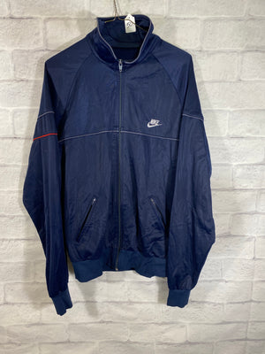 Nike fullzip track jacket SZ mens XL (paint mark)