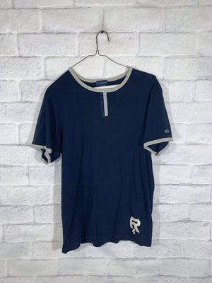 Polo Ralph lauren stitched tshirt Sz mens small
