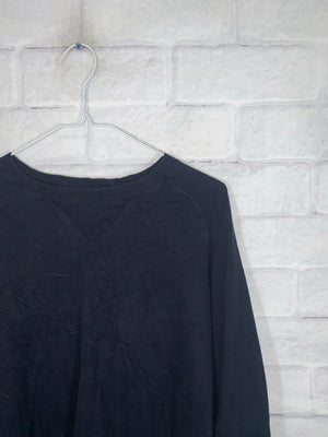 Vintage Black Roots Longsleeve Sweater