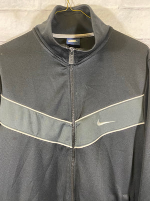 Nike track jacket SZ mens large (small thread pull)