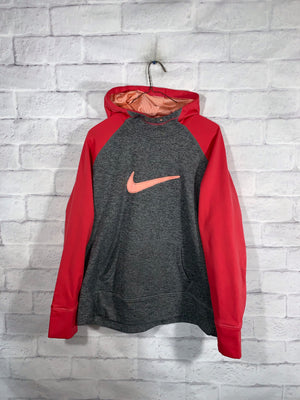 Nike stitched check sweater SZ womens XL
