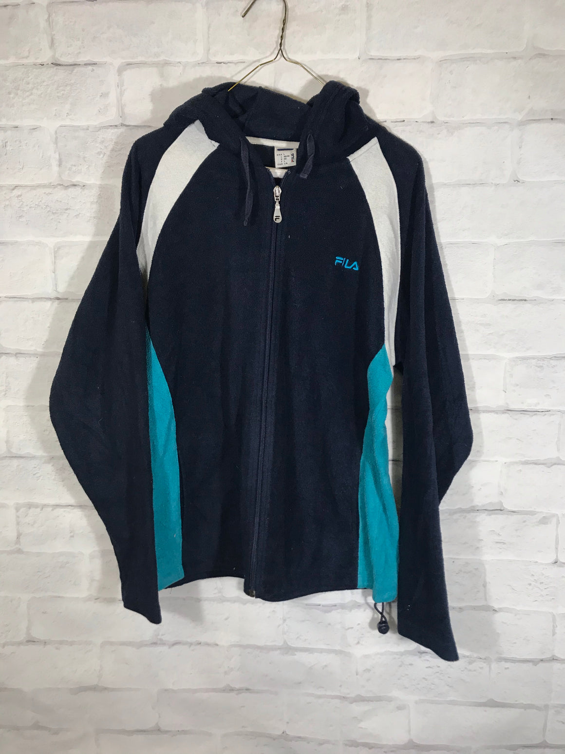 Fila Fullzip sweater track jacket SZ mens Large