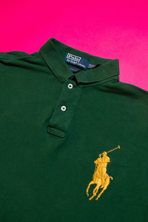 Polo with #3 Stitching on arm