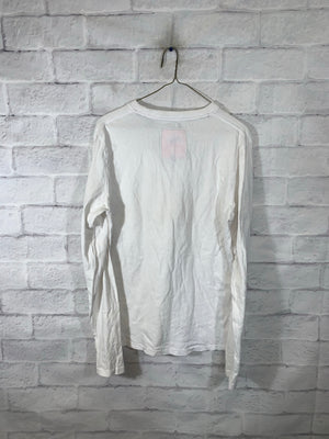 White Superdry Longsleeve Sweater