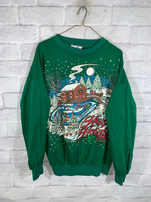 Green Holidays Longsleeve Sweater
