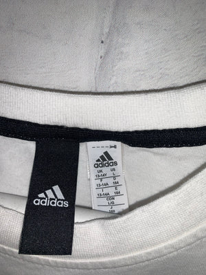 White Adidas Graphic T-Shirt