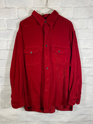 DKNY button down thick shirt
