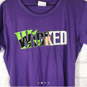 Wicked tshirt SZ kids 2Xl fits womens small