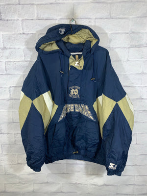 Starter Notre Dame Irish anarok puffer jacket