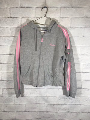 Reebok spellout fullzip sweater jacket SZ womens small