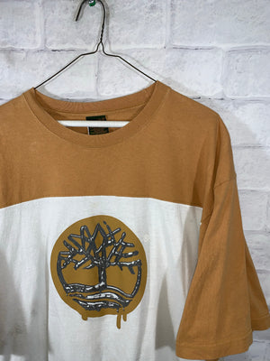 Brown Timberland Graphic T-Shirt