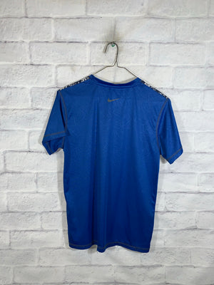 Blue Nike Dri-Fit Sports Jersey