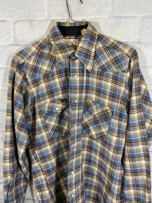 Vintage Wrangler button down shirt