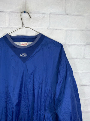 Vintage Blue Rawlings Longsleeve Sweater