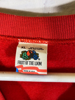 Fruit of the loom graphic cruneck sweater
