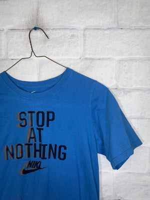 Vintage Blue Nike Graphic T-Shirt