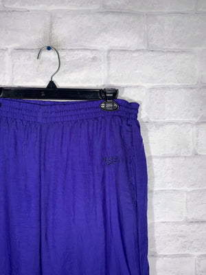 Reebok purple retro track pants SZ mens medium