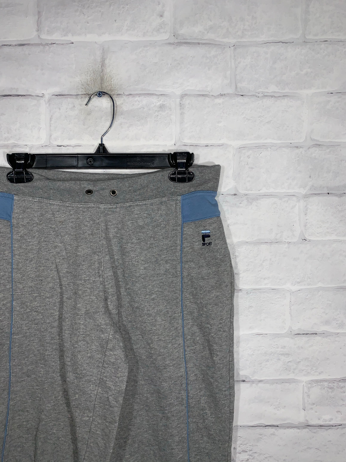 Grey Fila Sport Sweatpants
