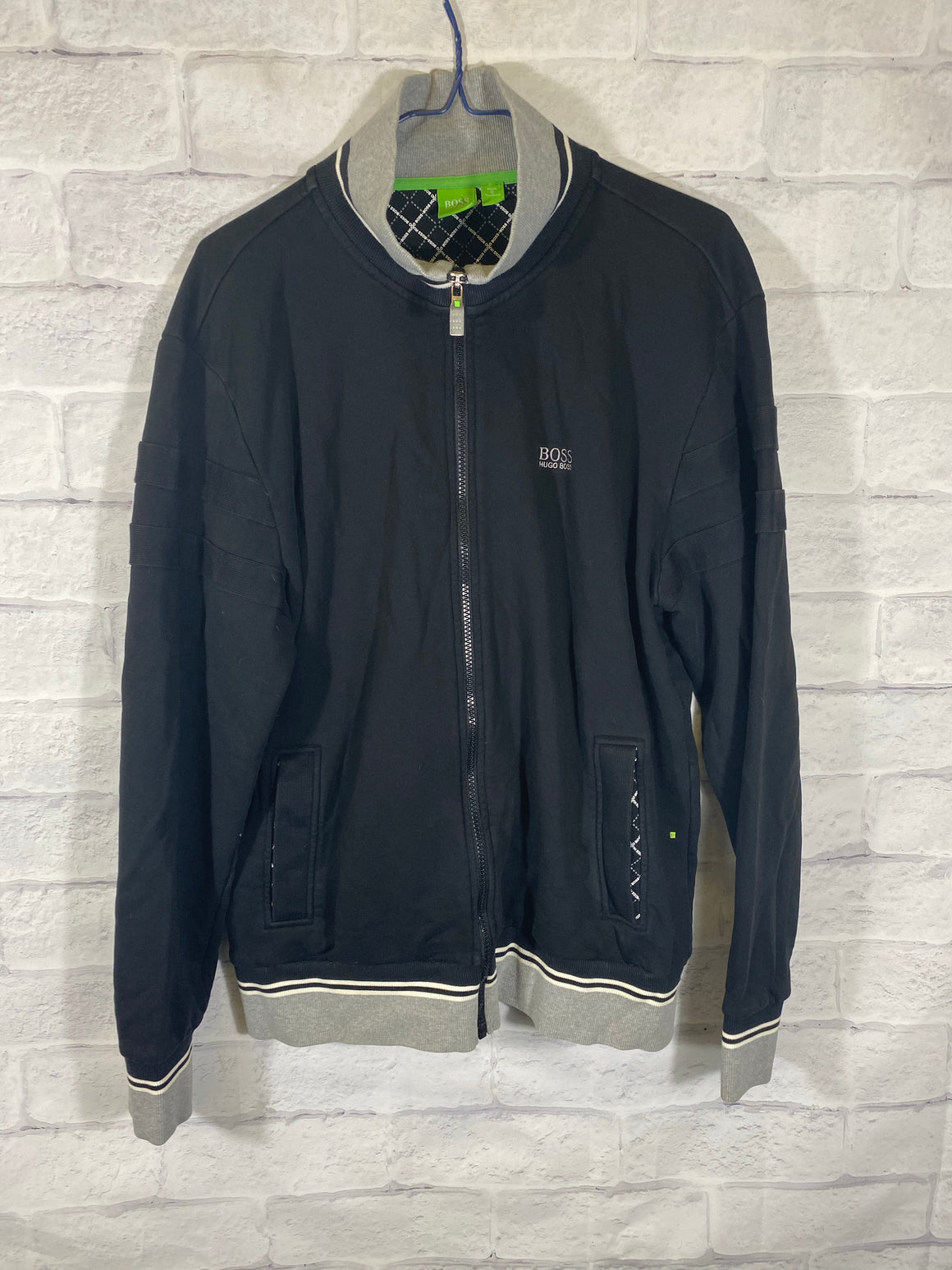Hugo Boss fullzip track jacket SZ mens Large