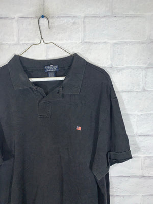 Vintage Polo Jeans Ralph Lauren Quarter Button Shirt