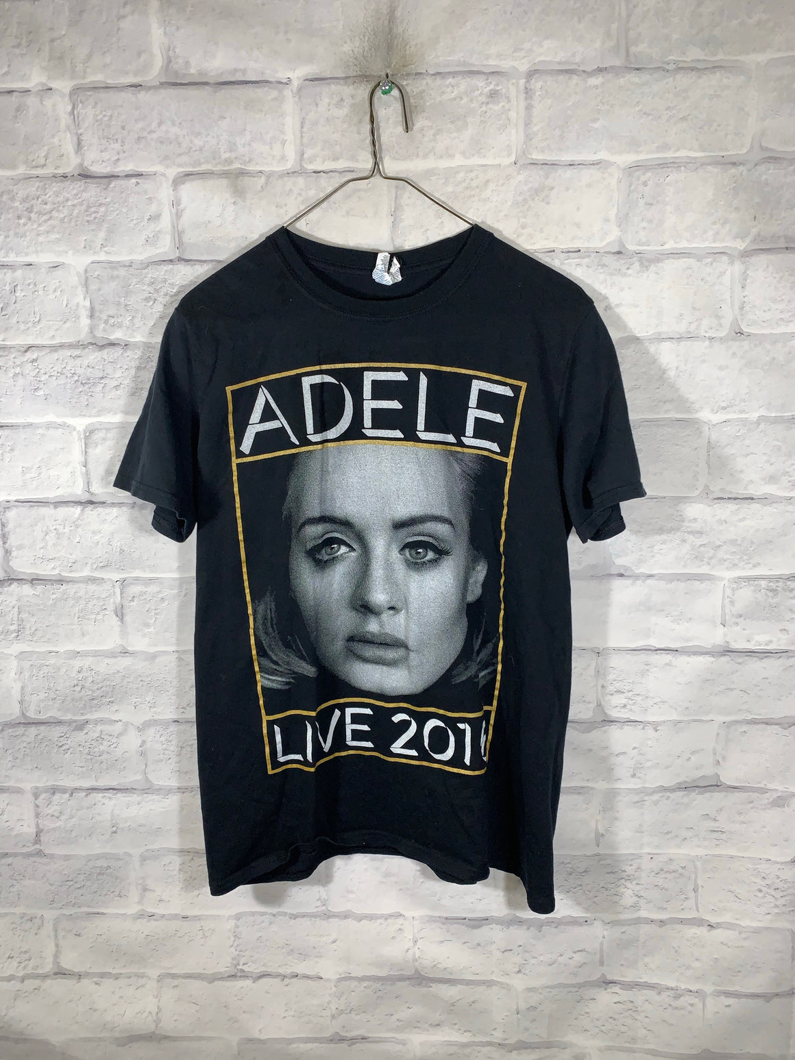 Black Adele 2016 Graphic Band T-Shirt