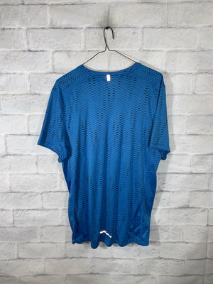 Blue Nike Dri-Fit Graphic T-Shirt