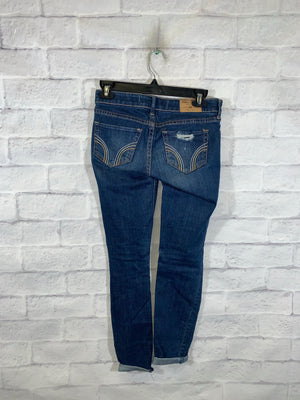 Blue Hollister Denim Pants