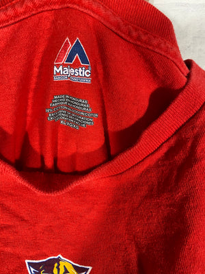 Florida Panther Majestic tshirt SZ mens XL
