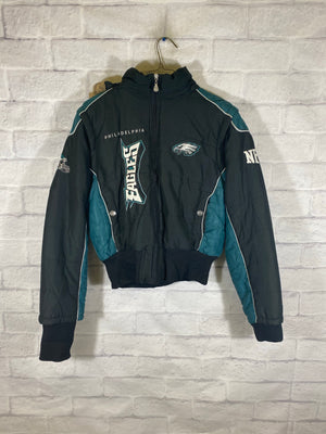 Philly Eagles puffer jacket SZ womens medium