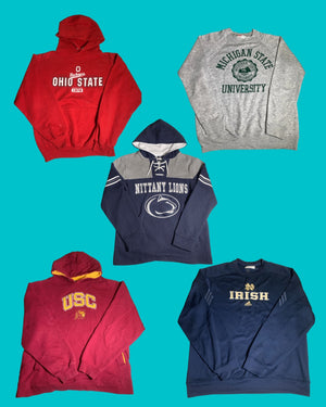 College Vintage Assorted Package 1 - 10 Pieces