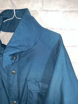 Teal Woolrich Full Zip Light Jacket