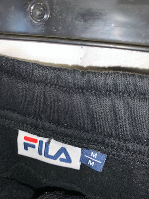 Vintage Black Fila Sweatpants