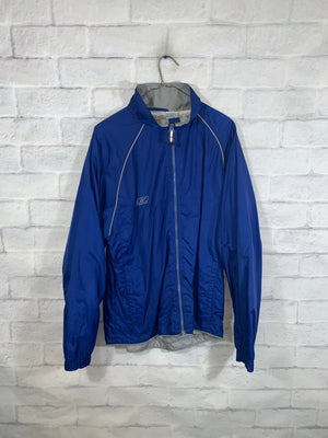 Vintage Blue Reebok Full Zip Light Jacket