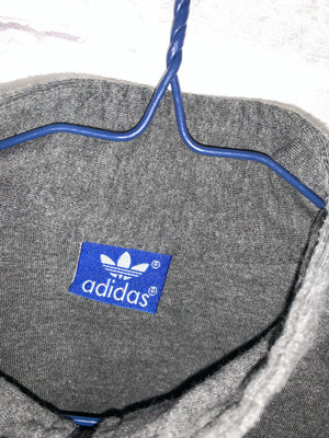 Grey Adidas Full Zip Light Jacket