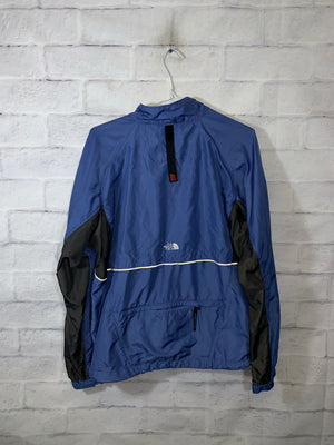 Blue North Face Full Zip Light Jacket