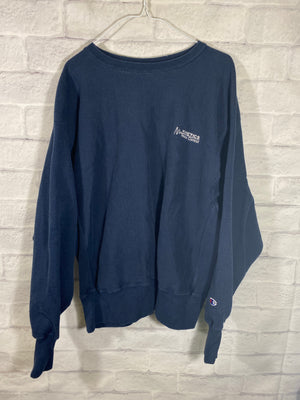Champion branded fleece crewneck sweater