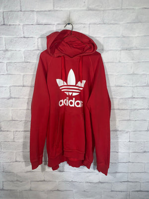 Red Adidas Longsleeve Sweater