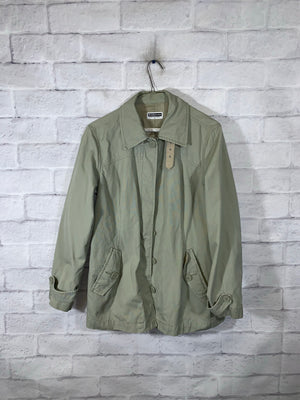 Olive Giordano Full Button Light Jacket