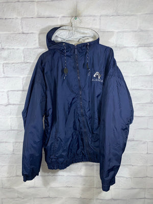 Blue Gear for Sports Alaska Full Zip Light Jacket