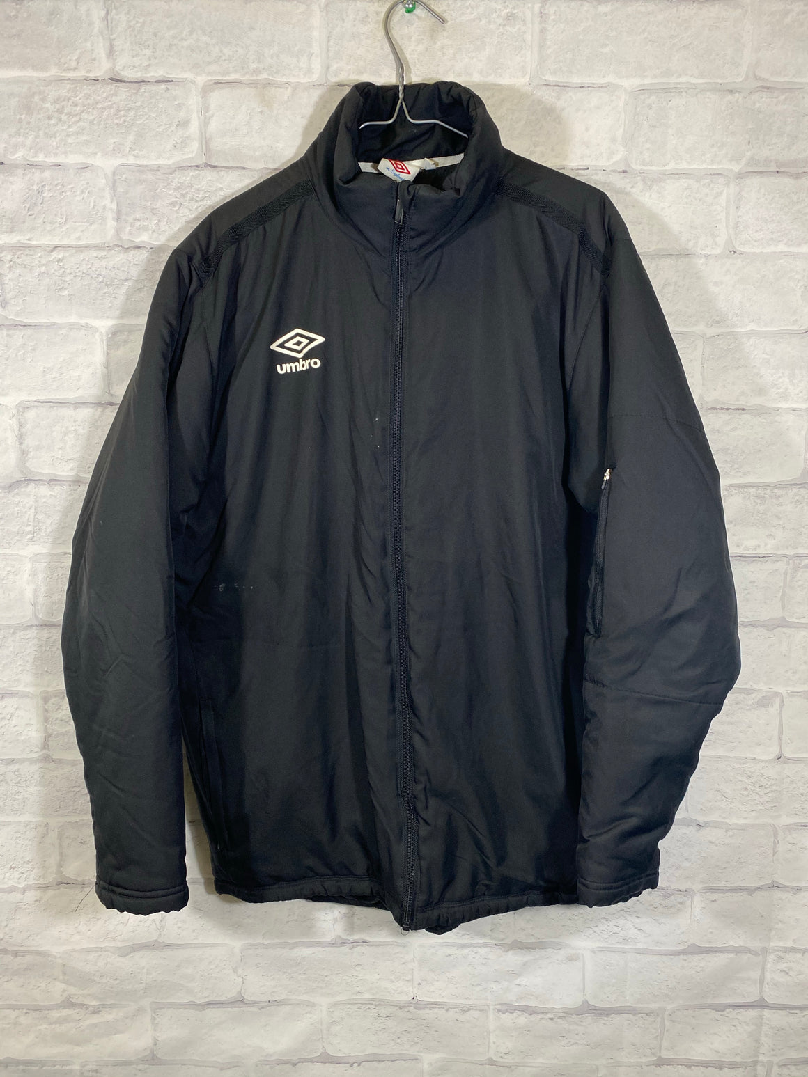 Umbro light puffer jacket SZ mens Large