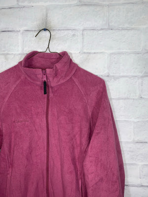 Vintage Pink Colombia Full Zip Light Jacket