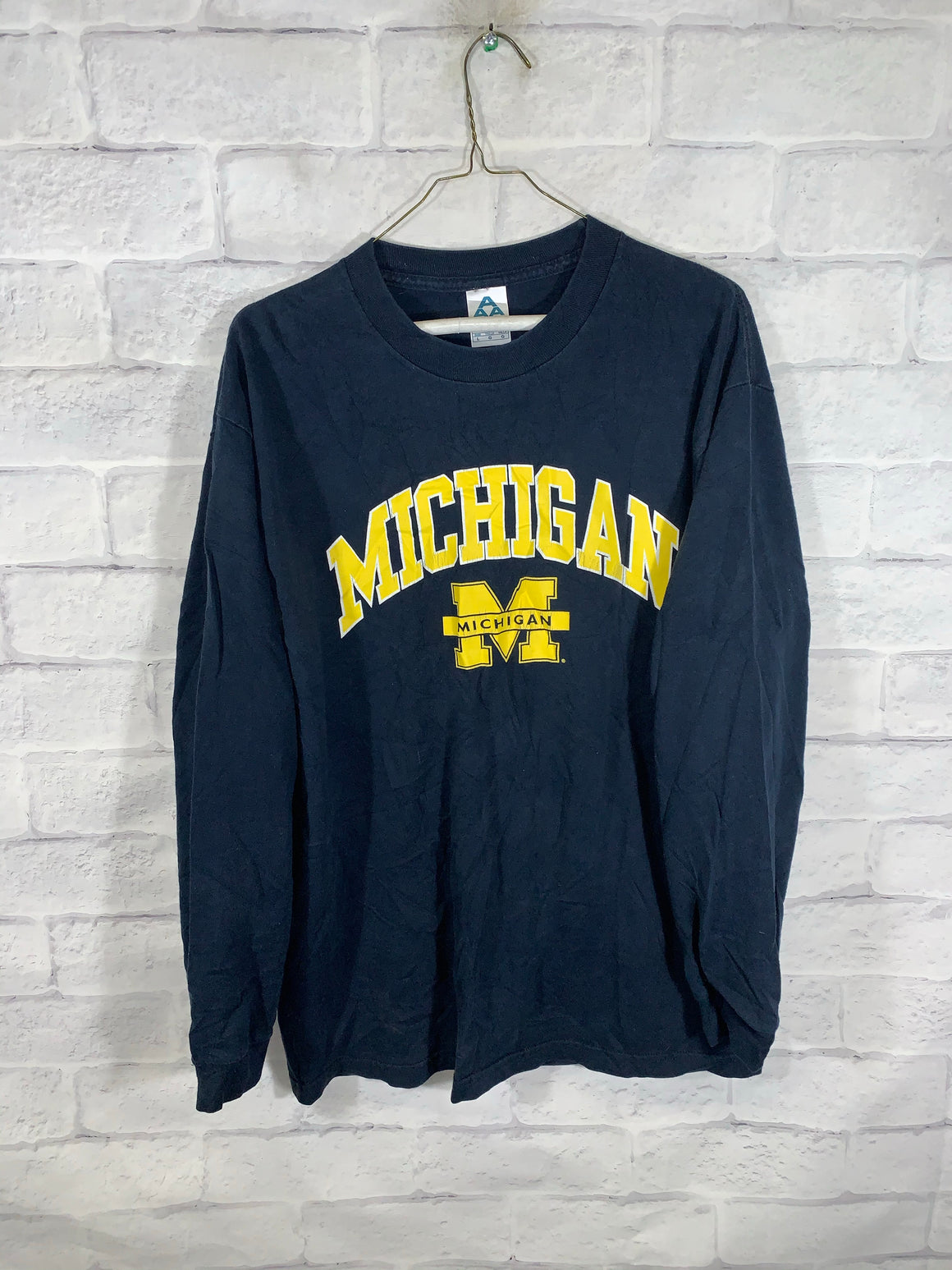 Blue University of Michigan Longsleeve Shirt